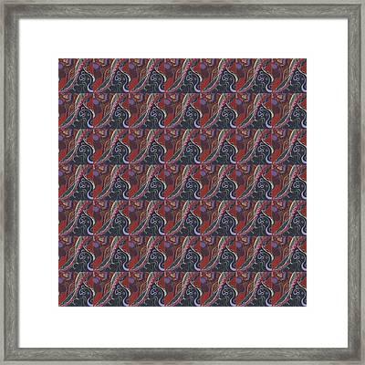 The Joy Of Design X X V I I I Tile Framed Print