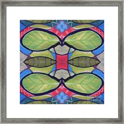 The Joy Of Design X X X I I I Arrangement 1 Framed Print by Helena Tiainen
