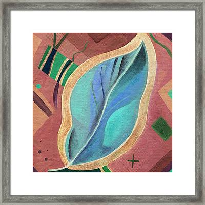The Joy Of Design X X X I Inverted Framed Print by Helena Tiainen