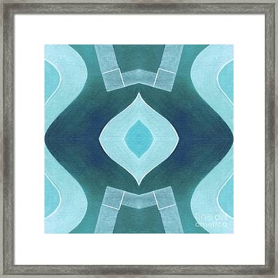 The Joy Of Design X X X V Arrangement 1 Framed Print by Helena Tiainen