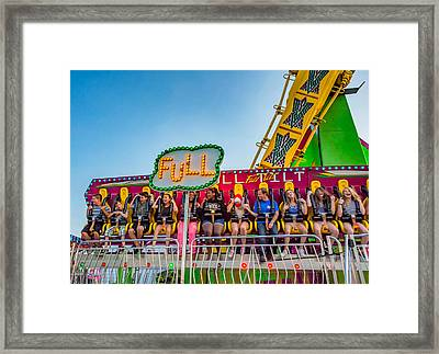 The Joy Of Fear Framed Print