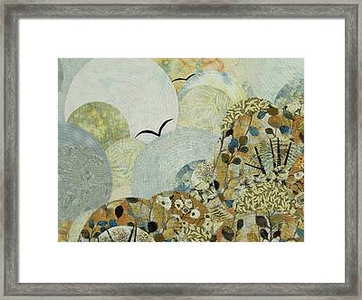 The Joy Of Soaring Framed Print by Linda Beach