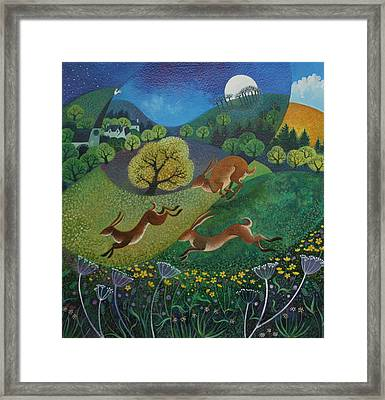 The Joy Of Spring Framed Print