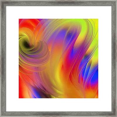 The Joyous Mind Framed Print by Janpen Sherwood