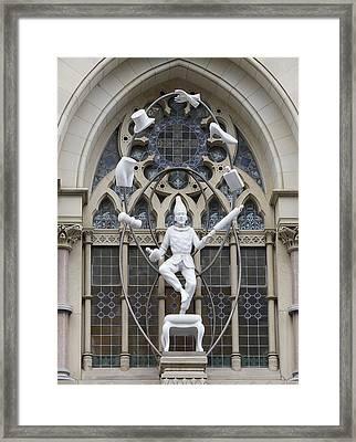 The Juggler Framed Print