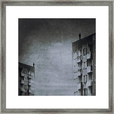 The Jumper Framed Print by Art of Invi