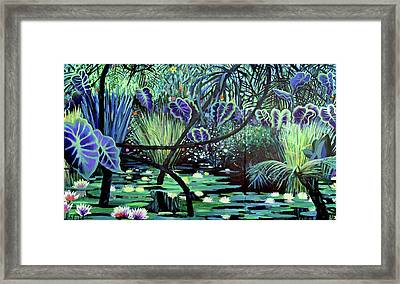 The Jungle Framed Print by Geoff Greene