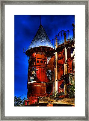 The Junk Castle Framed Print by David Patterson
