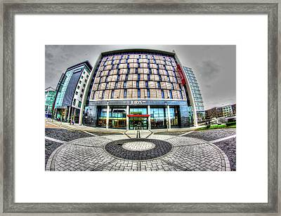 The Jury Inn Milton Keynes Framed Print by KonTrasts