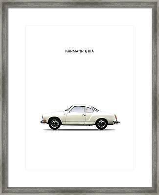 The Karmann Ghia Framed Print