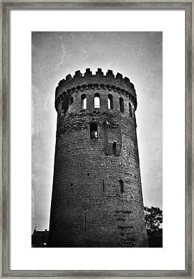 The Keep At Nenagh Castle In Nenagh Ireland Framed Print