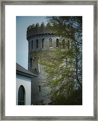 The Keep At Nenagh Castle Ireland Framed Print