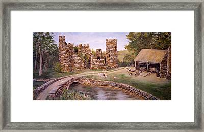 The Keep At Smithy Bridge Framed Print