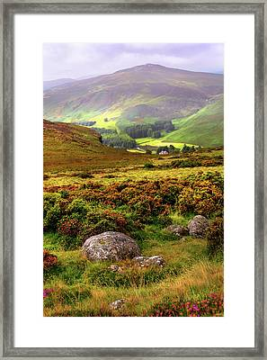 The Keeper Of Legends Framed Print by Jenny Rainbow