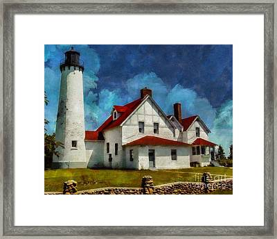 The Keeper's House 2015 Framed Print