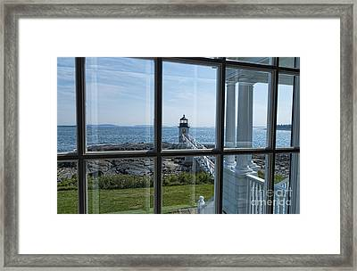 The Keeper's View Framed Print by Patrick Fennell