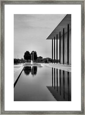 The Kennedy Center Framed Print by Steven Ainsworth