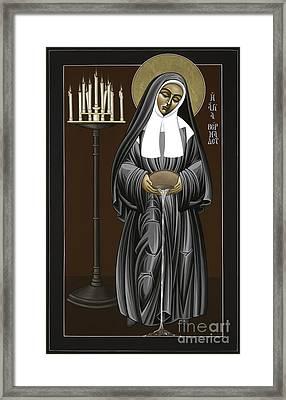 The Kenosis Of St Bernadette Of Lourdes 063 Framed Print