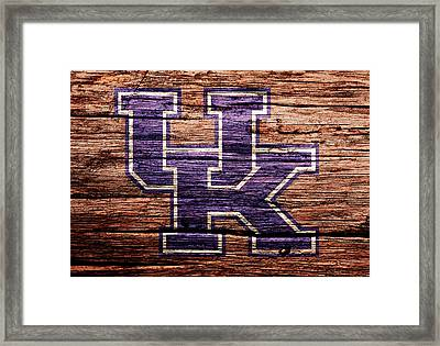 The Kentucky Wildcats 1b Framed Print