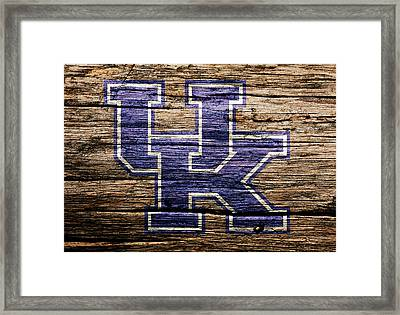 The Kentucky Wildcats  Framed Print