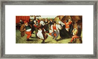 The Kermesse Framed Print by Pieter Balten