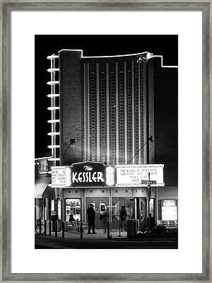 The Kessler V2 091516 Bw Framed Print
