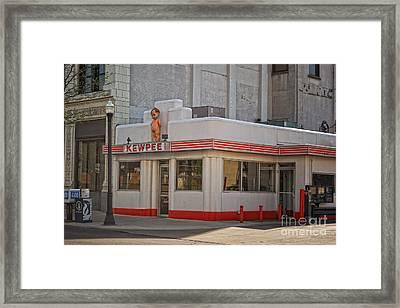 The Kewpee  Framed Print by Pamela Baker
