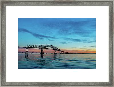 The Key To Charm / The Dawn's Early Light Framed Print by C U Fotography