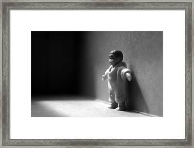The Kid Framed Print by Dan Holm