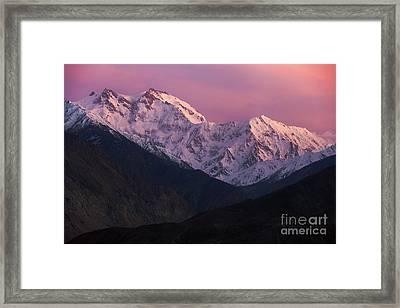 The Killer Mountain Framed Print