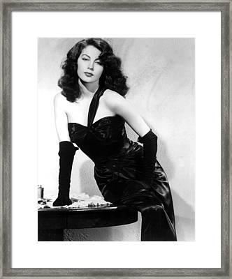The Killers, Ava Gardner, 1946 Framed Print by Everett