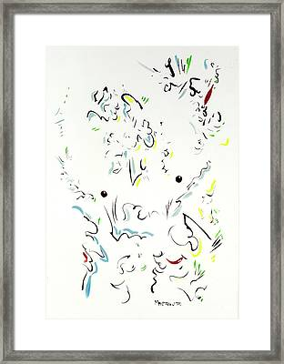 The Kindly Minotaur Framed Print