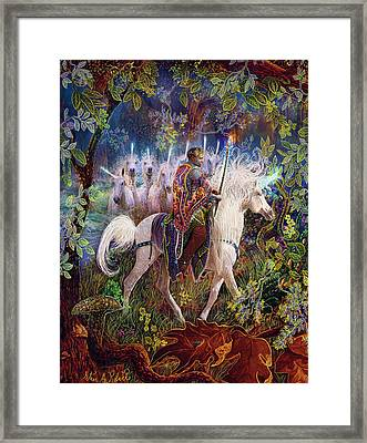 The King And I Framed Print by Steve Roberts