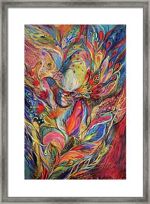 The King Bird Framed Print