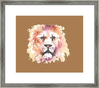 The King T-shirt Framed Print by Herb Strobino