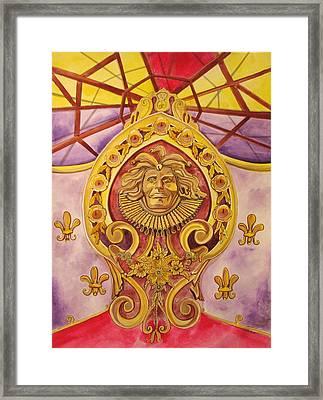 The King Of The Carousel Framed Print