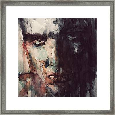 The King Framed Print by Paul Lovering