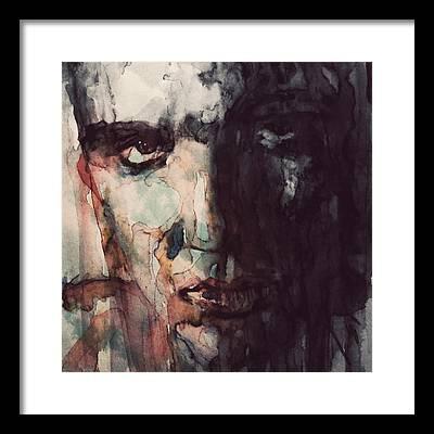 Elvis Presley Rocks Framed Prints