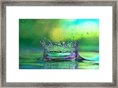 The Kings Crown Framed Print