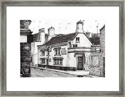 The Kings Head Framed Print