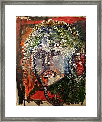 The King's Sorrow Framed Print by Michael Kulick