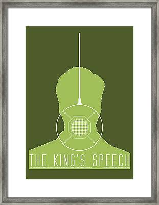 The King's Speech Framed Print