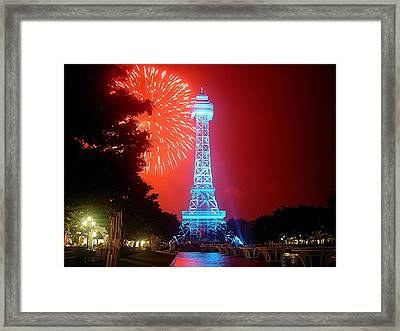 The King's Tower Framed Print by Barkley Simpson