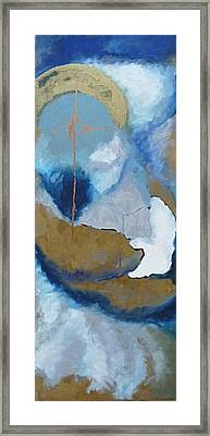The Kiss Framed Print by Erika Brown