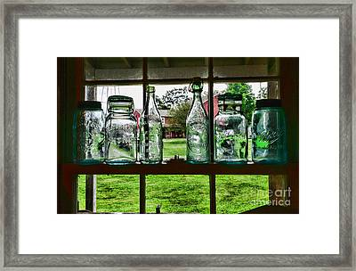 The Kitchen Window Framed Print by Paul Ward