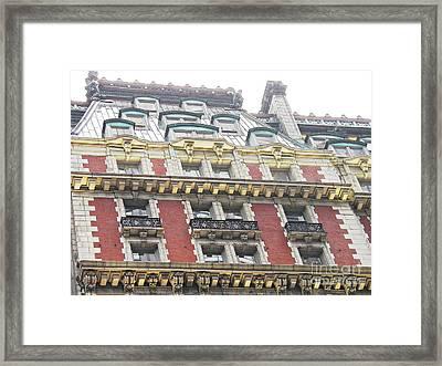 The Knickerbocker Hotel 2 Framed Print by Sarah Loft