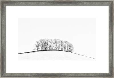 The Knolls Wensleydale Framed Print by Janet Burdon