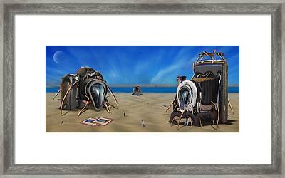 The Kodak Meltdown Panoramic Framed Print by Mike McGlothlen