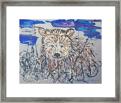 Framed Print featuring the painting The Kodiak by J R Seymour