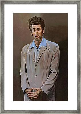 The Kramer Portrait  Framed Print